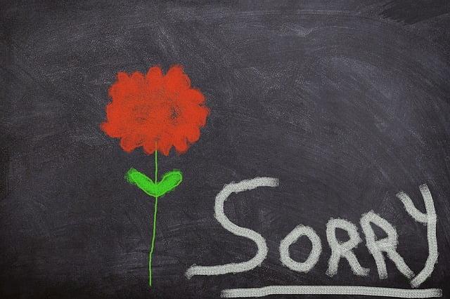 謝罪、断る